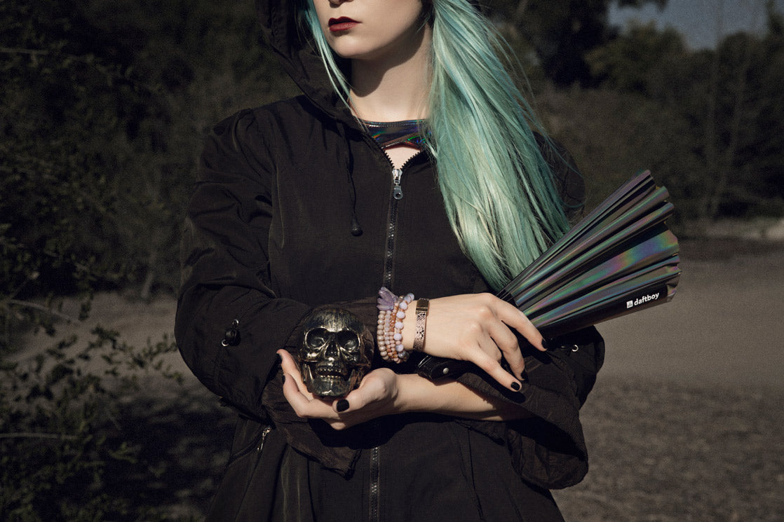 LASR BLog The Raven - Festival Outfits EDM Clothing Rave Fans Cosplay