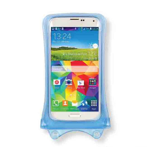 "DiCAPac 5.1"" Universal Waterproof Smartphone Case in Blue"