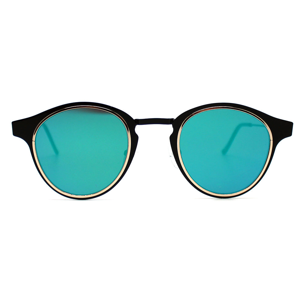 Spitfire Warp Sunglasses in Black/Green