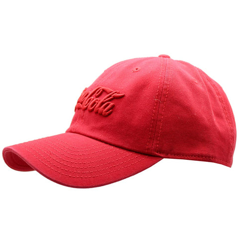 American Needle X Coca-Cola Tonal Wash Raglan Hat in Red