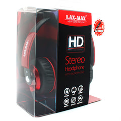 HD Stereo Headphones in Red