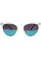 Spitfire Outward Urge Sunglasses in Clear/Green
