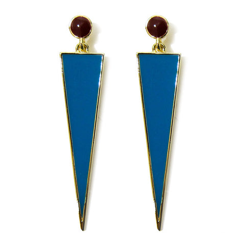 FASHô Retro Tribe Earring in Turquoise