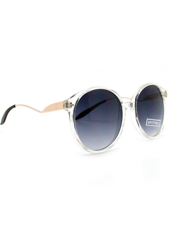 Spitfire Occams Razor Oversized Sunglasses in Clear