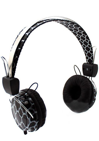 Honeycomb Stereo Headphones