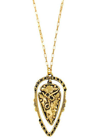Vanessa Mooney The Illuminations Necklace in Gold