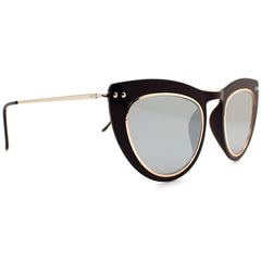 Spitfire Outward Urge Sunglasses in Black/Silver