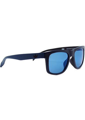 Adidas Originals Square Print Sunglasses in Brush Blue