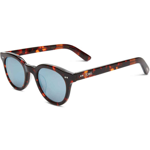 TOMS Fin Sunglasses in Whisky Tortoise