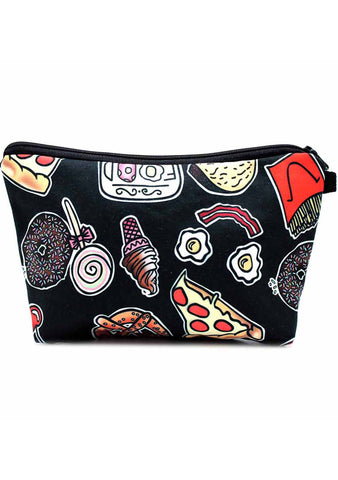 7 LUXE Food Fest Cosmetic Bag