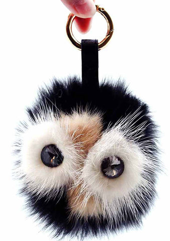 7 LUXE Mr. Owl Keychain Bag Charm