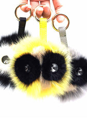 7 LUXE Mr. Owl Keychain