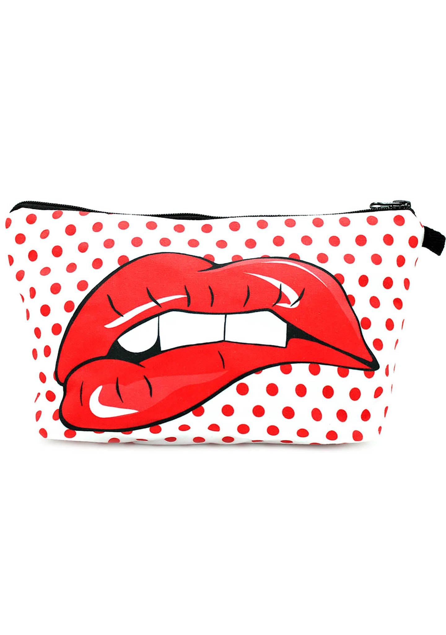 7 LUXE Pop Lips Cosmetic Bag