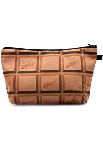 7 LUXE Sweet Chocolate Bar Cosmetic Bag