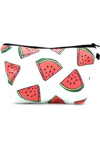 7 LUXE Watermelon Cosmetic Bag