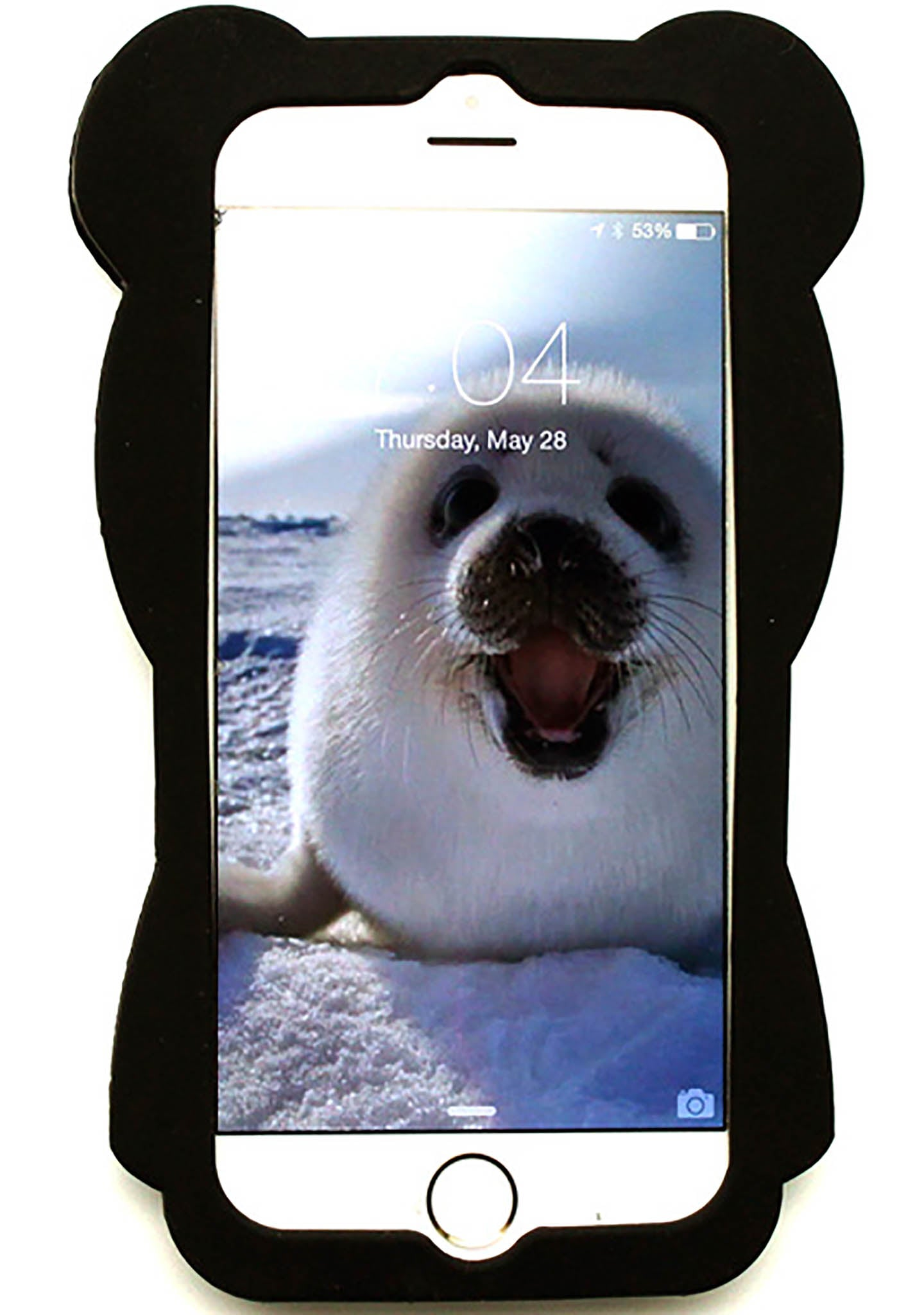 7 LUXE Bat Bear Silicone Case for iPhone