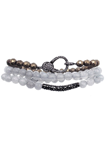 7 LUXE Clarity Bracelet Set