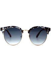 7 LUXE Electric Sky Tortoise Sunglasses