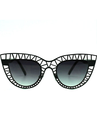7 LUXE Fierce Feline Sunglasses