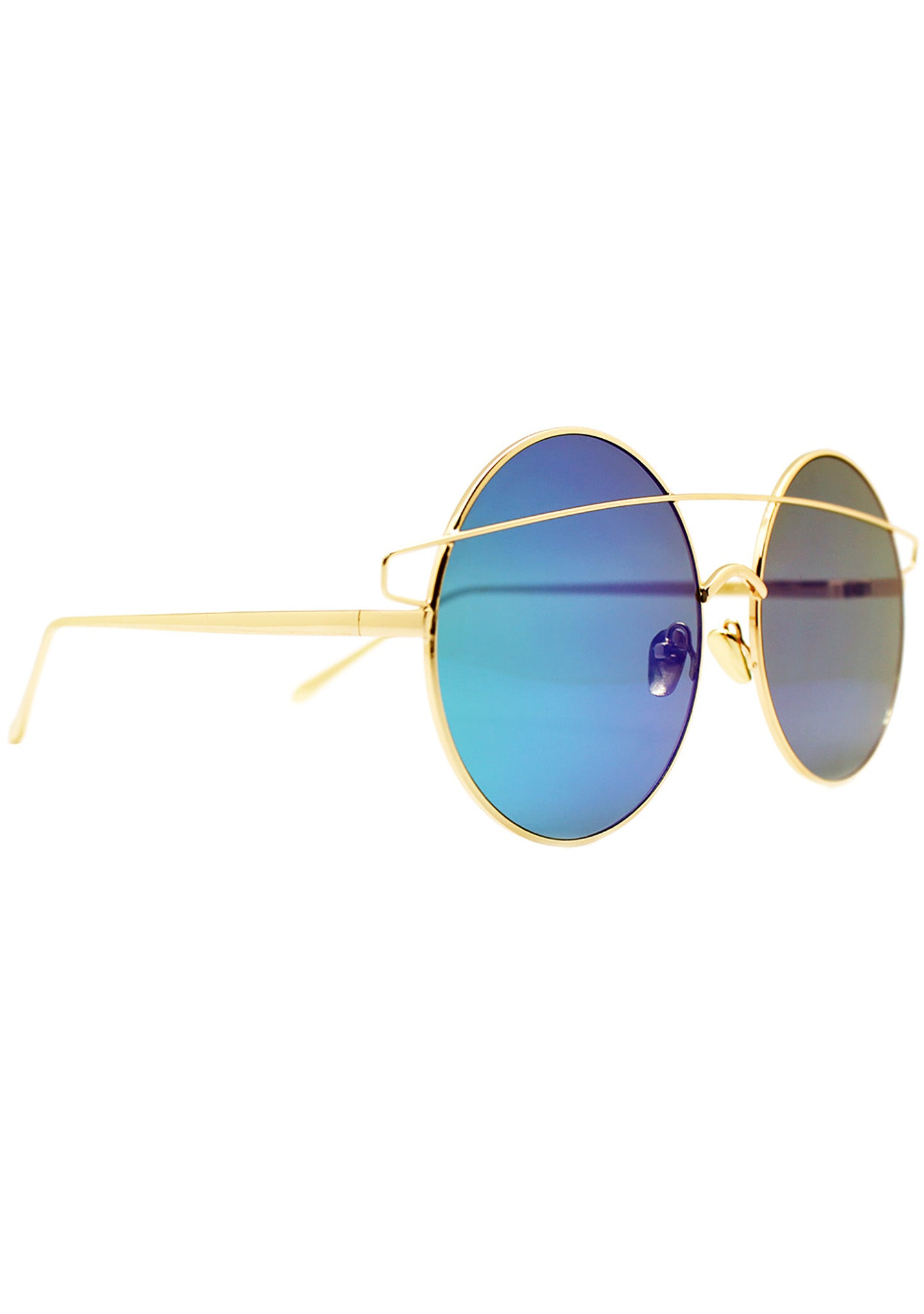 7 LUXE Galaxy Reflective Sunglasses