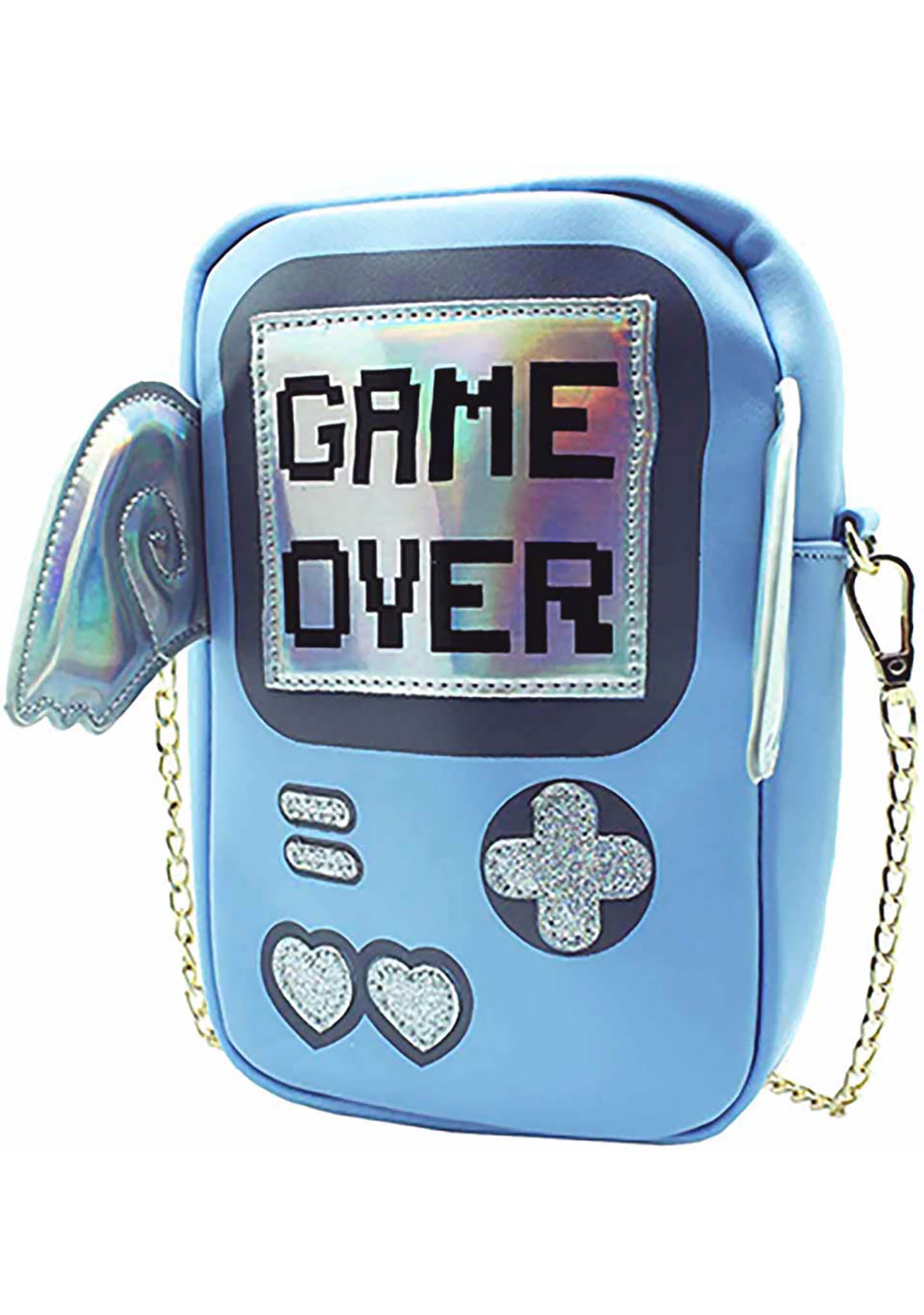 7 LUXE Game Over Crossbody Bag in Blue