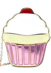 7 LUXE Ice Cream Sundae Crossbody Handbag