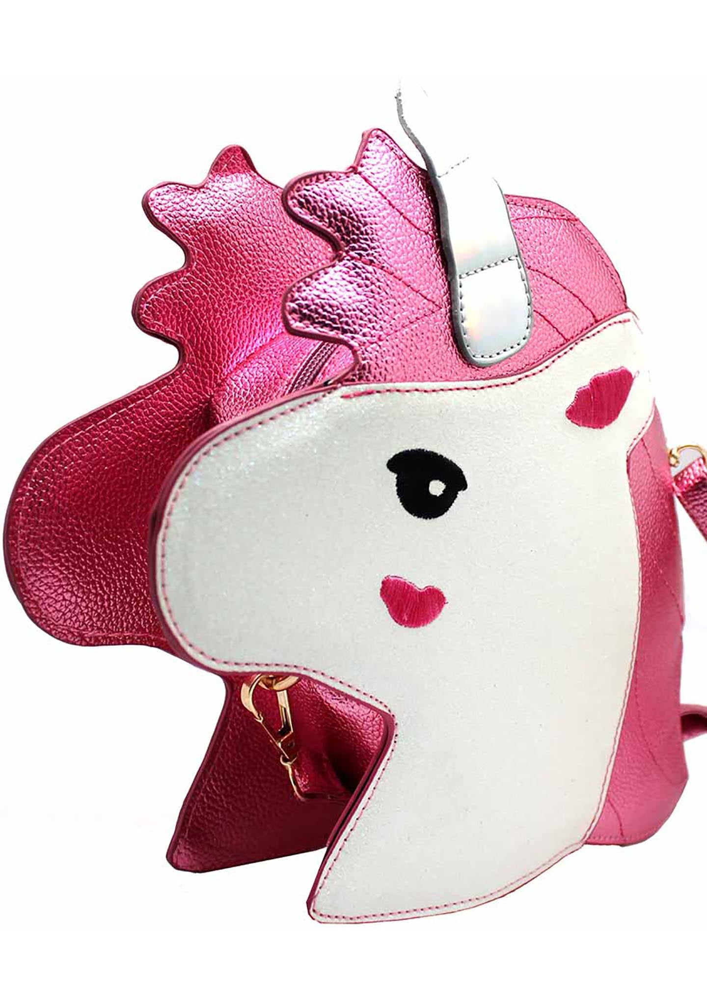 7 LUXE My Little Unicorn Crossbody Bag in Pink