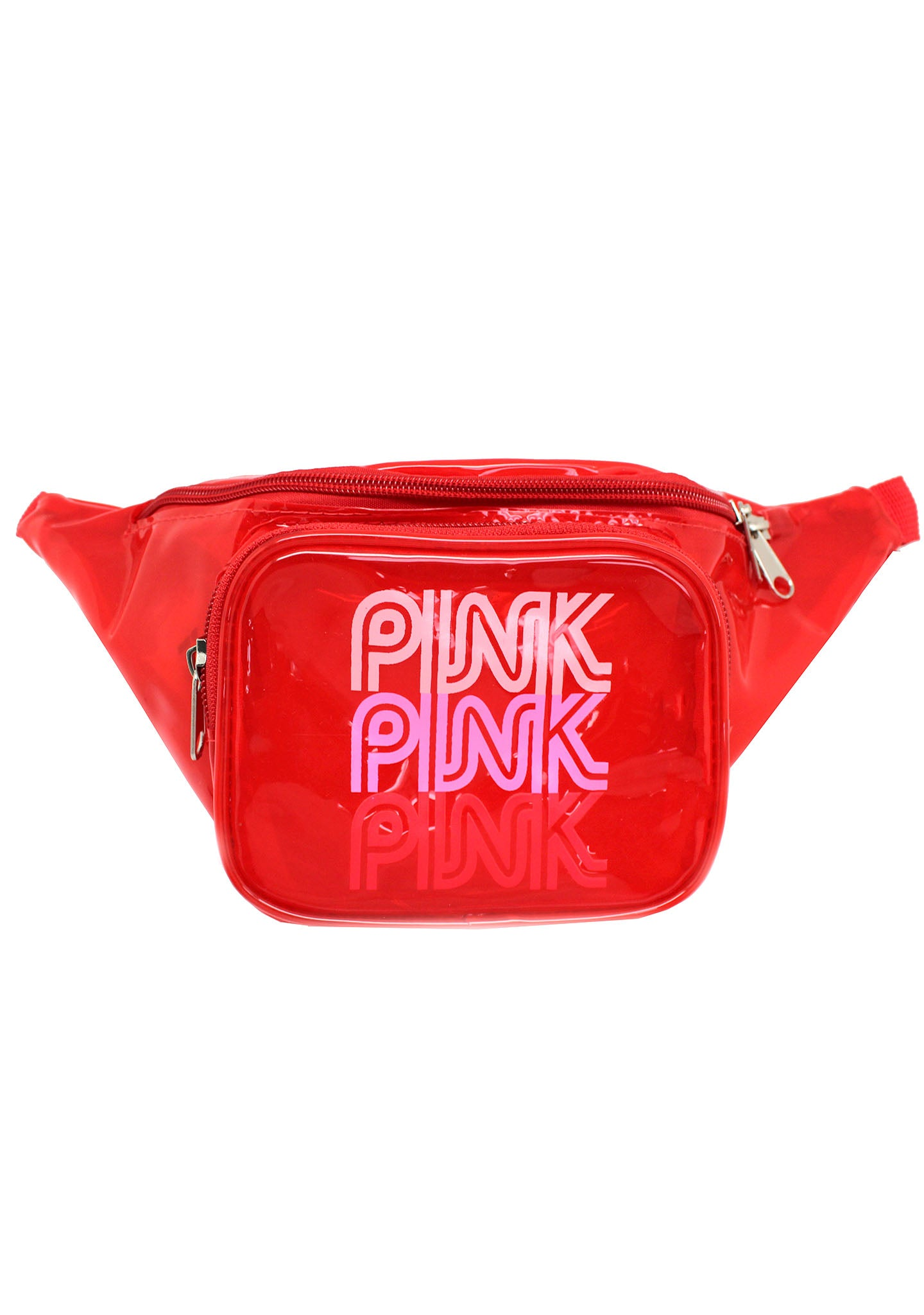 7 LUXE Pink Lady Fanny Pack in Red