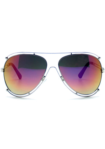 7 LUXE Vixen Aviator Sunglasses