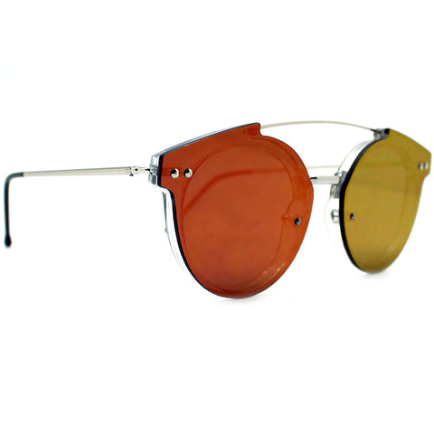 Spitfire Trip Hop 2 Sunglasses in Clear/Red