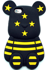 7 LUXE Bumble Bee Bear Silicone Case for iPhone 6