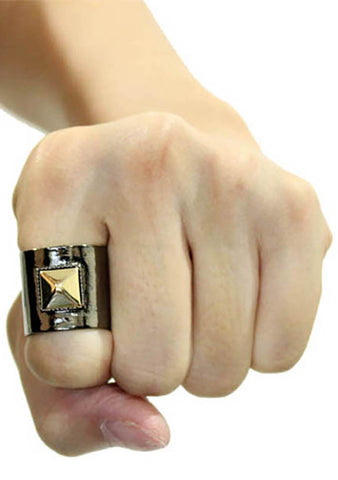 8 Other Reasons Anarchy Rings in Gold/Gunmetal