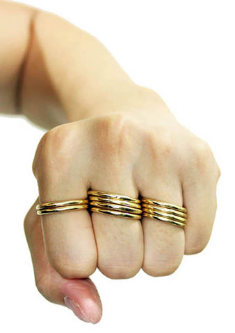 8 Other Reasons Easy E Rings in Gold (Sets of 10)
