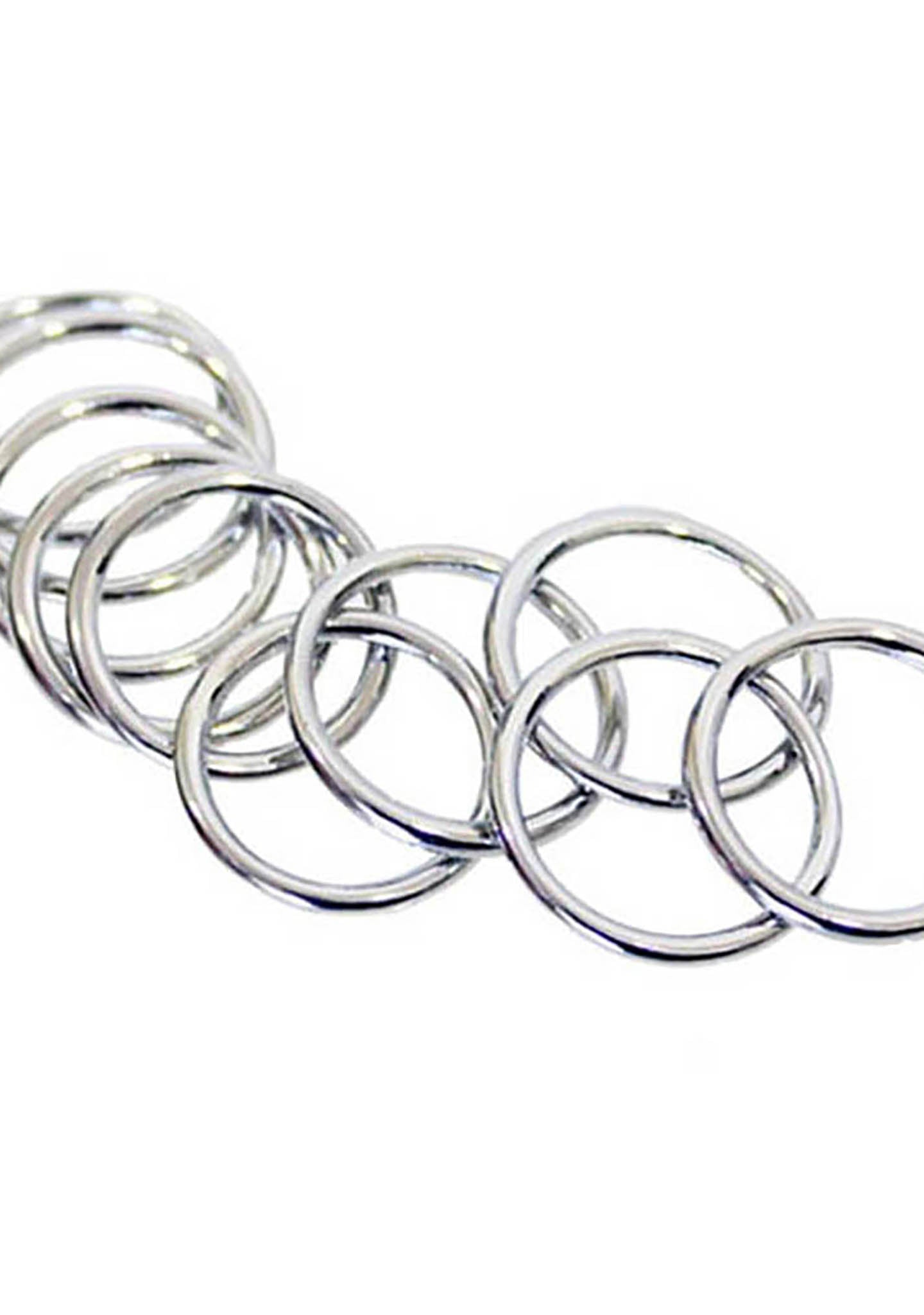 8 Other Reasons Easy E Rings in Silver (Sets of 10)