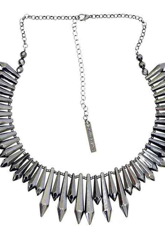 8 Other Reasons Expired Pendant Necklace in Gunmetal