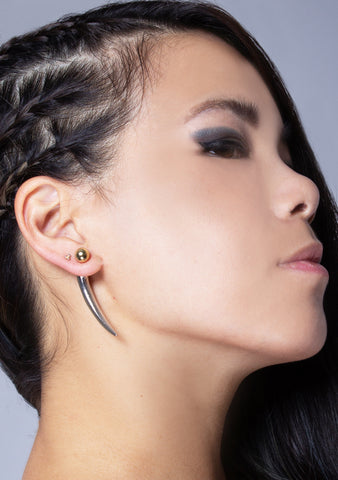 Femme Fatale Spiked Earrings
