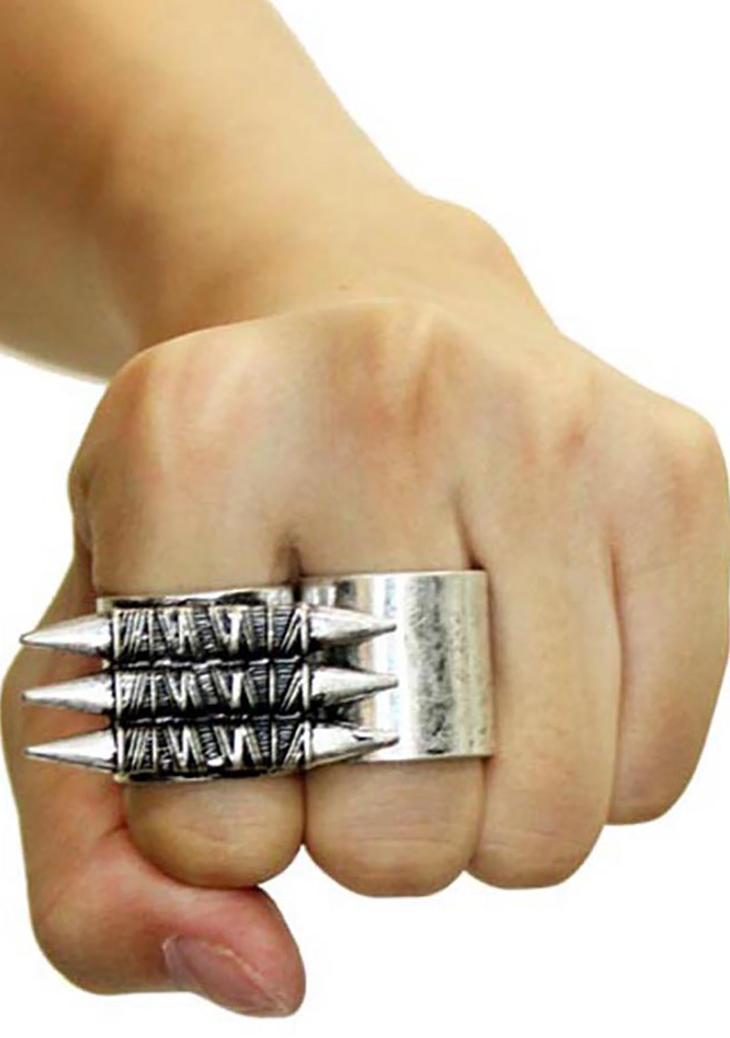 8 Other Reasons Survivor Spike Rings (Sets of 2)