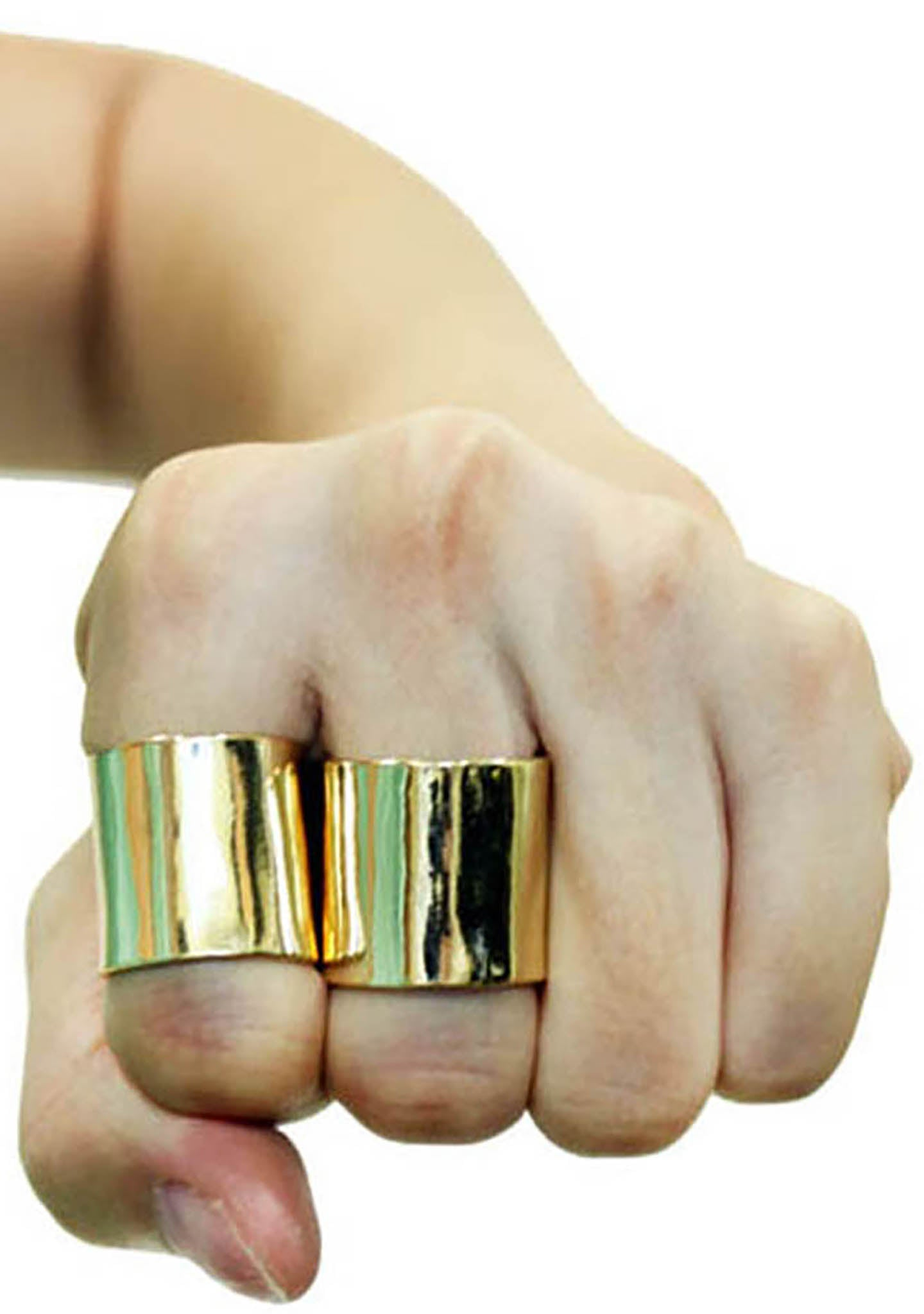 8 Other Reasons Undefeated Rings in Gold (Sets of 2)
