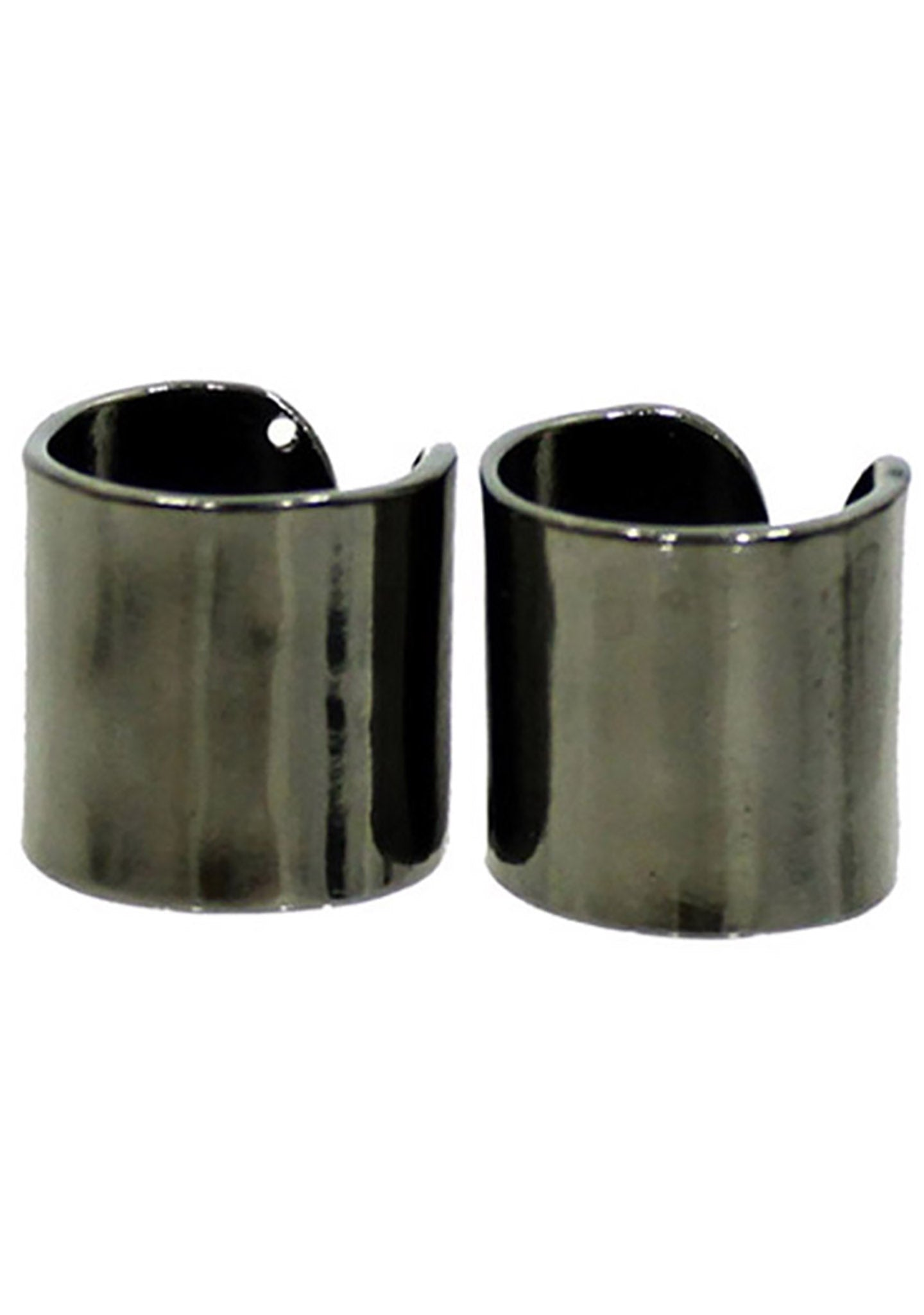 8 Other Reasons Undefeated Rings in Gunmetal (Sets of 2)