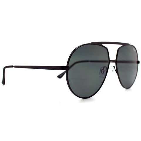 Quay Australia Blaze Sunglasses in Black