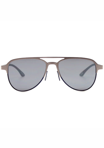 Adidas Originals Aviator Mirror Metal Series Sunglasses in Silver/Blue