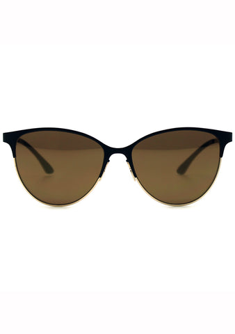 Adidas Originals Cateye Mirror Metal Series Sunglasses in Black/Gold