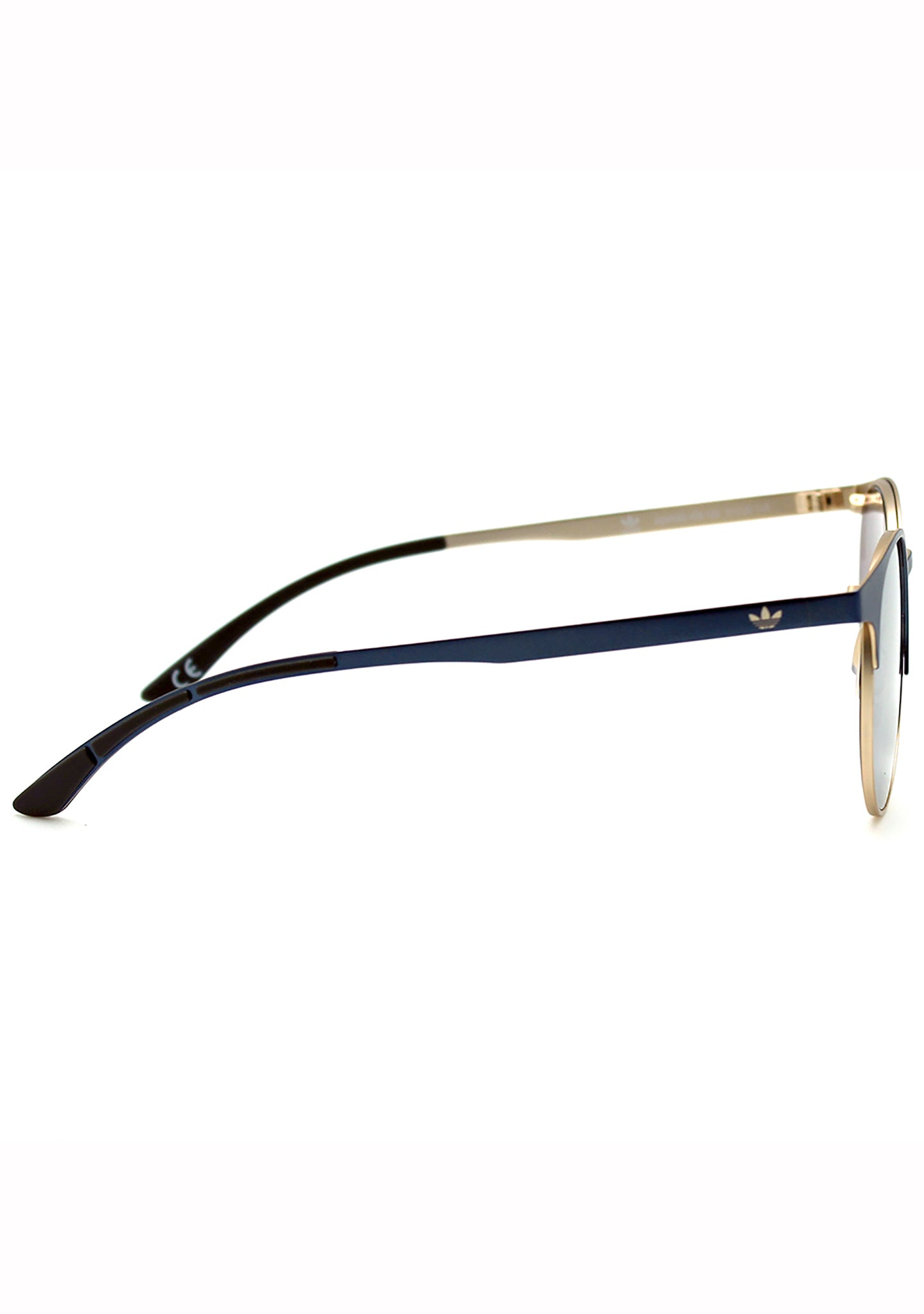 Adidas Originals Oval Metal Series Sunglasses in Blue/Gold