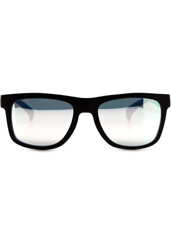 Adidas Originals Square Mirror Sunglasses in Black/Silver