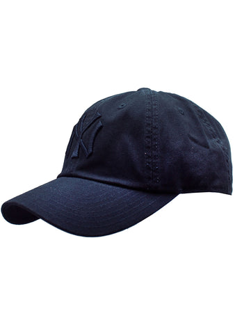 American Needle New York Yankees Tonal Ballpark Raglan Baseball Hat in Navy