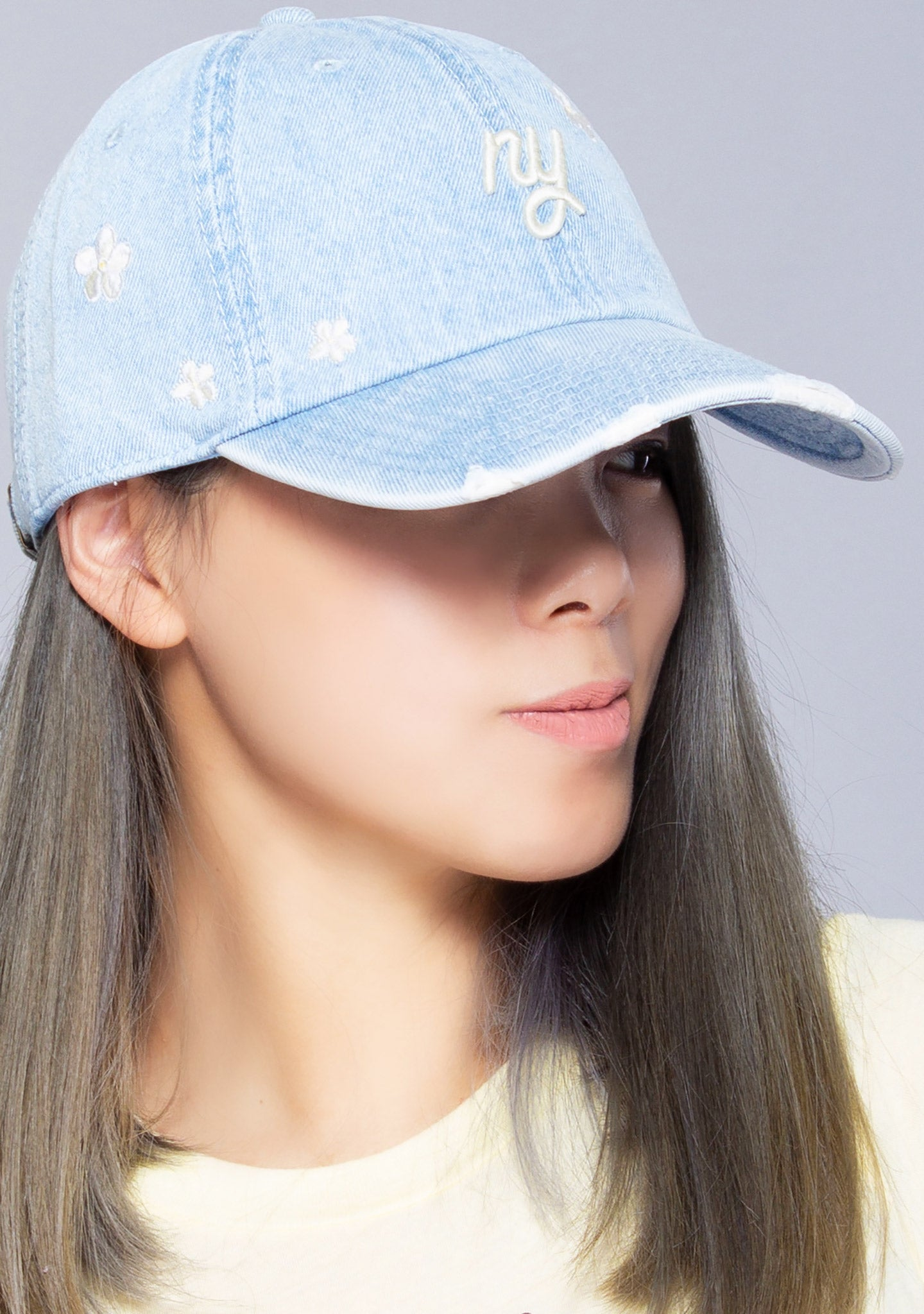 New York Round Up Daisy Baseball Hat