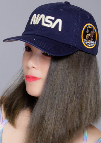 NASA Hoover Hat in Navy