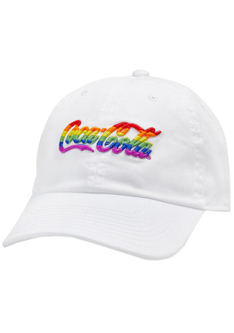 Coca Cola Rainbow Washed Slouch Hat