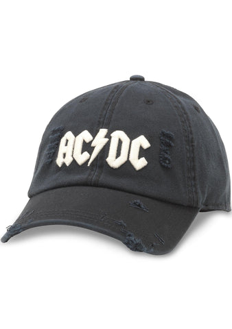 American Needle ACDC Shred Slouch Raglan Hat