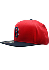 American Needle Boston Red Sox 400 Series Flat Brim Snapback Hat